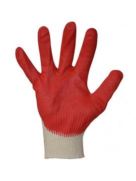 Перчатки трикотажные с 1-м латексным обливом